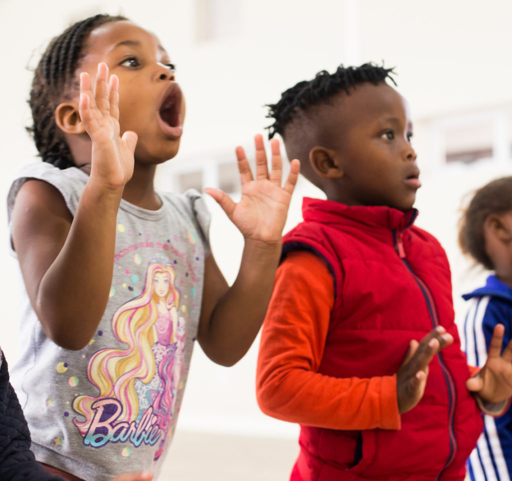 Pre-School music class exploring the concept of OPPOSITES in life and music.