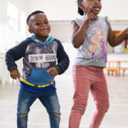 Pre-Schoolers music and movement
