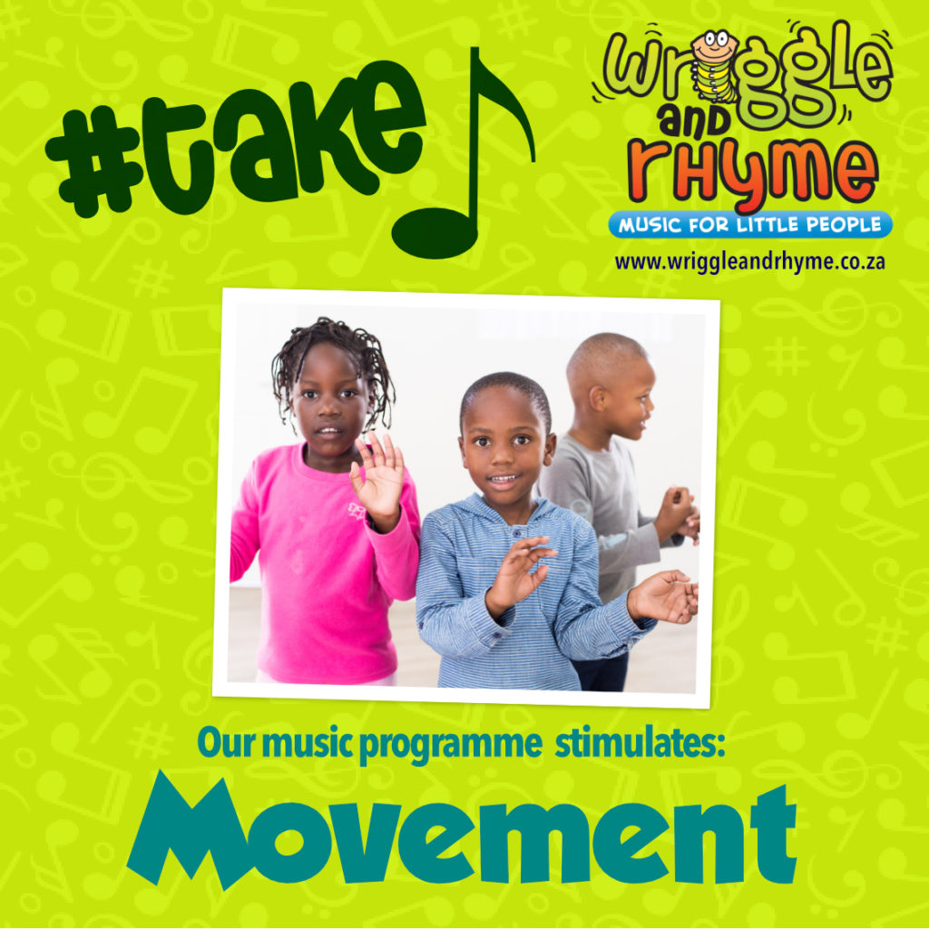 Pre-school music class in Cape Town