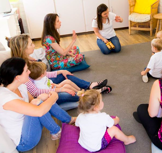 Baby and toddler music class in Meadowridge