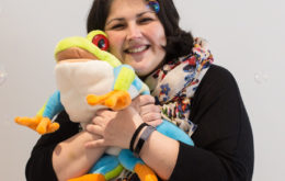 Clarice our Wriggle and Rhyme teacher in Claremont, Cape Town
