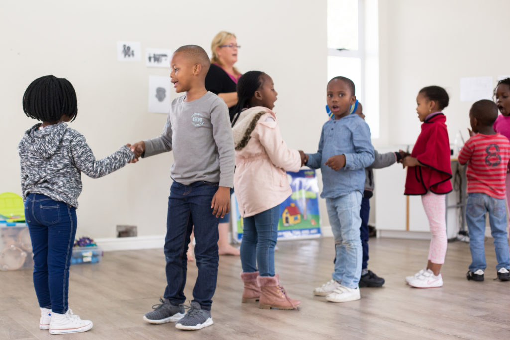 Focussing on emotional intelligence through pre-school music classes in Cape Town.