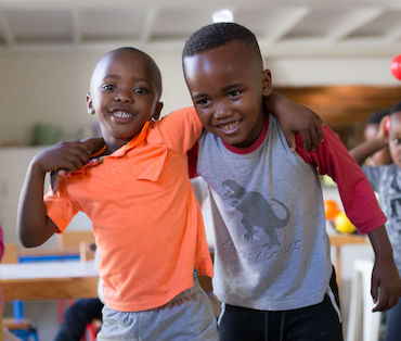 Developing emotional intelligence through pre-school music classes in Cape Town.
