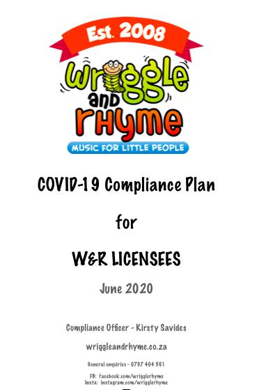 COVID-19 Compliance Plan