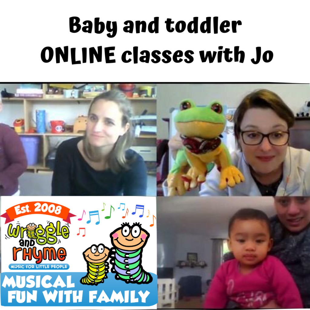 Online music classes for baby and toddlers