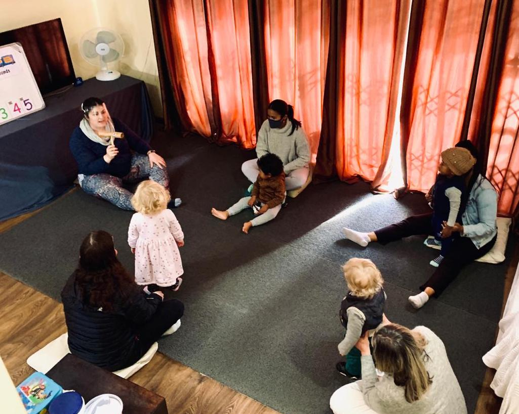 COVID compliant class in Claremont